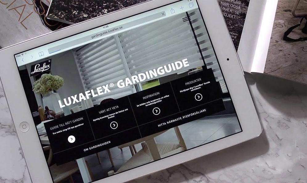 LUXAFLEX ® GARDINGUIDE
