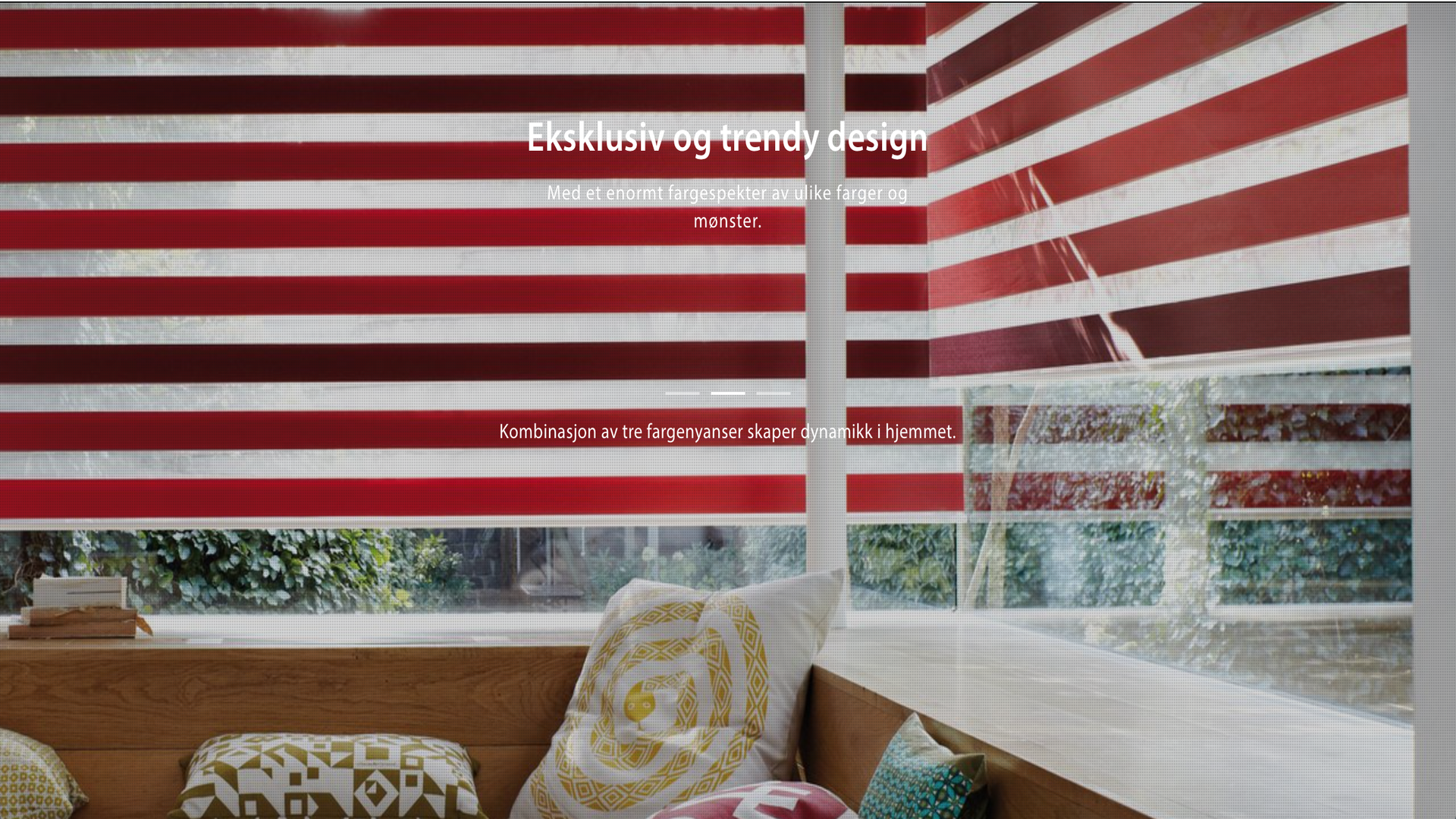 Eksklusiv og trendy design